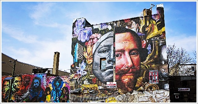 Graffiti und Street Art Bilder in New York City