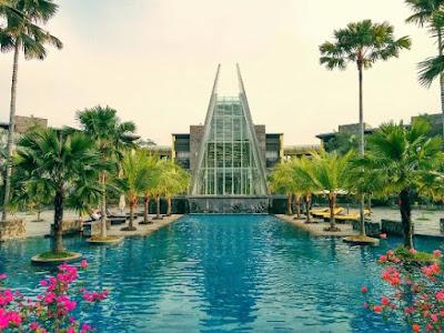 Kolam Renang Novotel Palembang Termasuk Fasilitas Gym