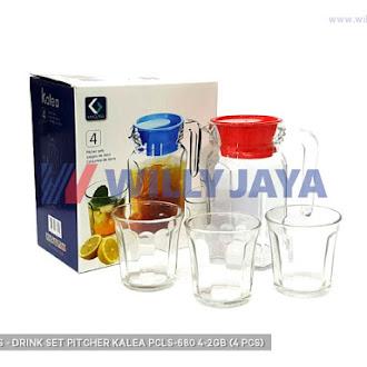 KIMGLASS - DRINK SET/ PITCHER KALEA PCLS-680/4-2GB (4 PCS)