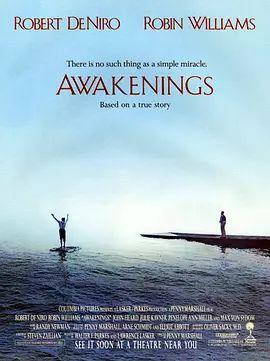 睡人《Awakenings》 電影海報 -Oliver Sacks