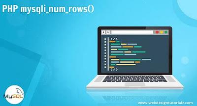 PHP mysqli_num_rows() Function