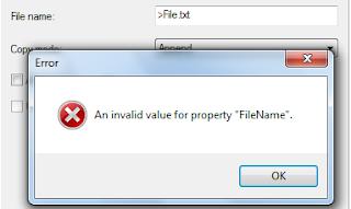invalid property value 2