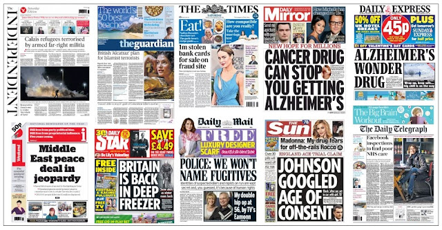 front pages 13-02-16