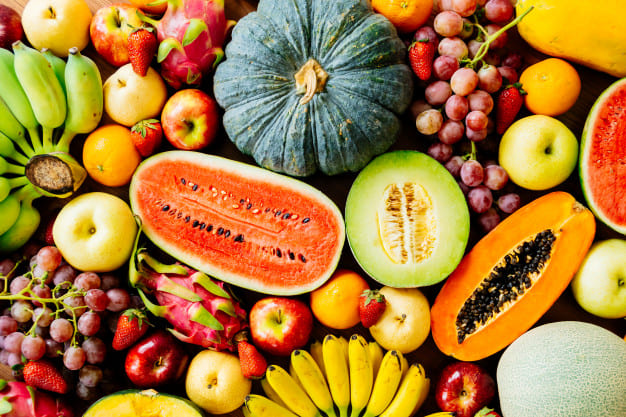 The benefits of fruits in general
