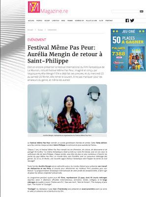 Le Festival MEME PAS PEUR 2017 dans 7 Magazine