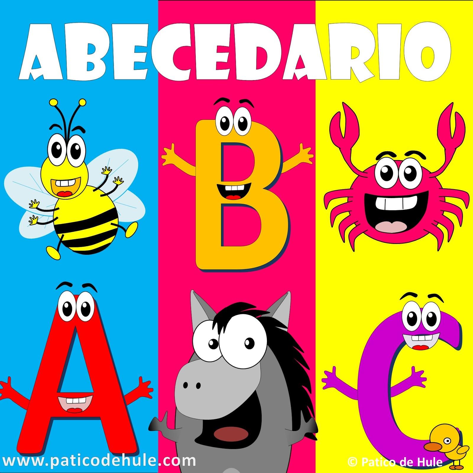 abecedario para niños canción infantil abecedario con animales