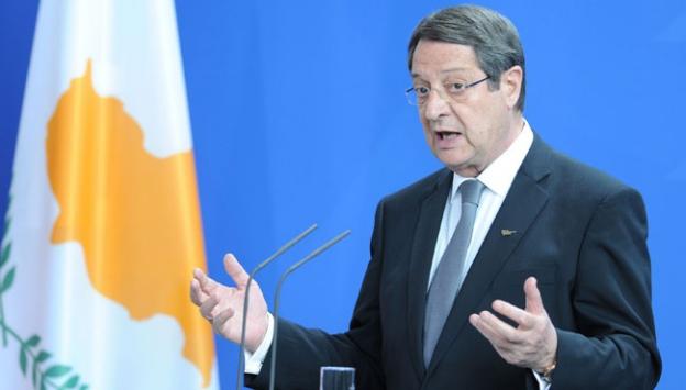 Kıbrıs Rum Kesimi Yönetimi Başkanı  Anastasiadis