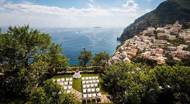 Positano na Costa Amalfitana na Itália