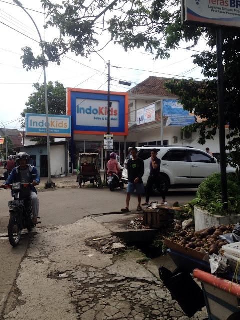 Rute ke toko Mahmud Bandung