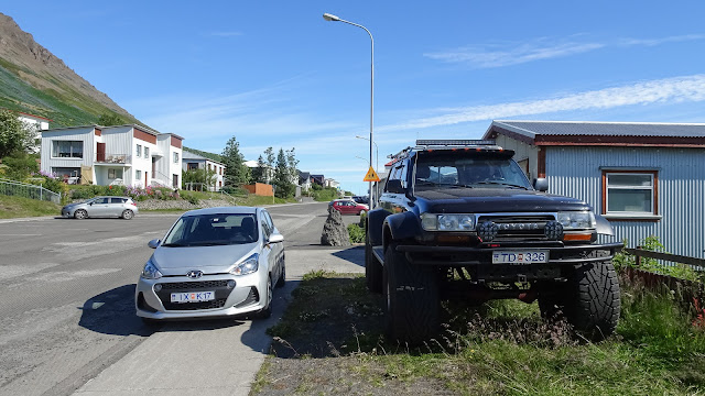 My car and average 4 wd