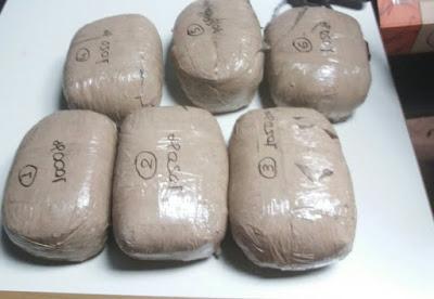 Συνελήφθησαν δύο άτομα με πάνω από 6 κιλά κάνναβης