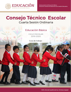 CONSEJO TÉCNICO ESCOLAR 4ta SESION CTE 2019-2020 NEM