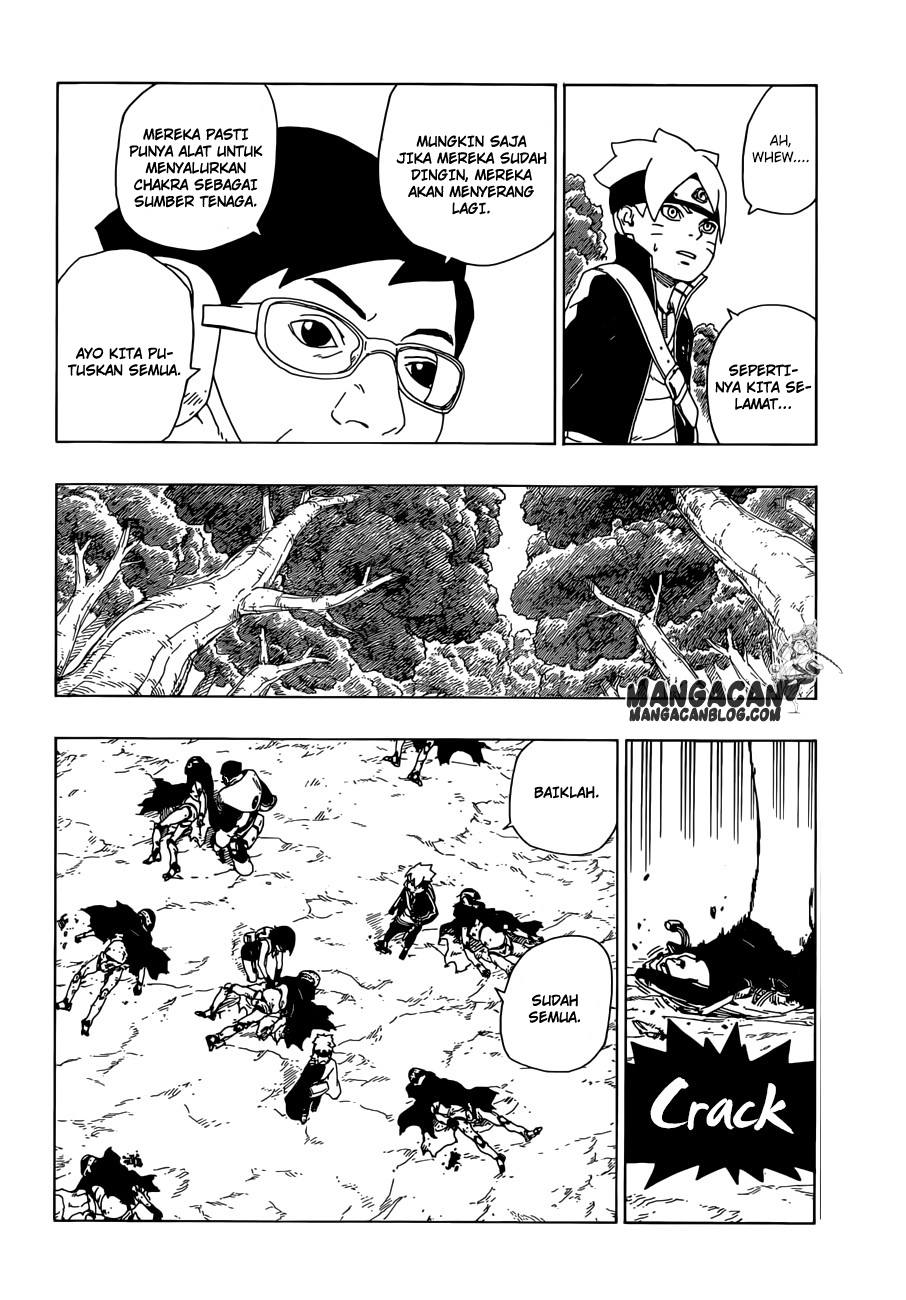 Baca Manga Boruto Chapter 19 Bahasa Indonesia