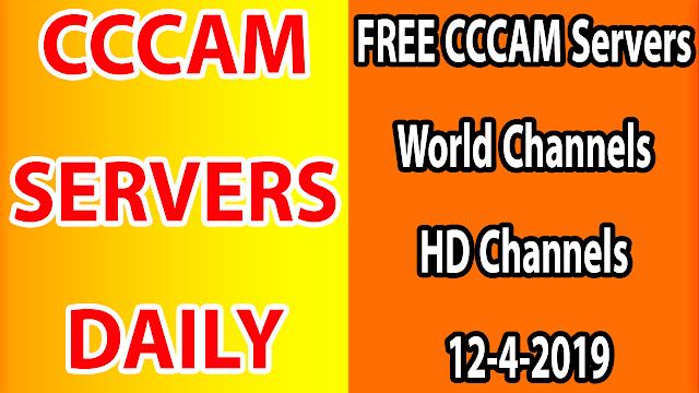 FREE CCCAM Servers World Channels +Sport HD Channels 12-4-2019
