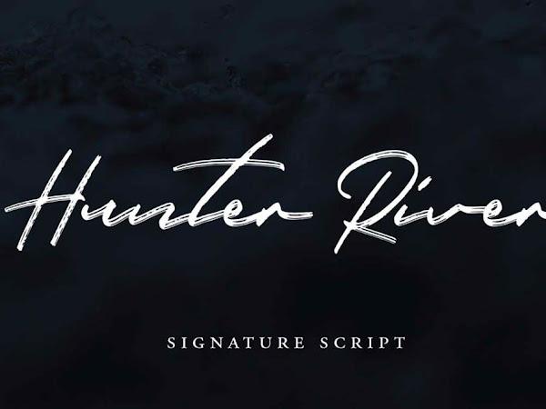 Hunter River Brush Script Font Free Download