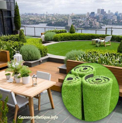 comment choisir son gazon synth tique pour terrasse. Black Bedroom Furniture Sets. Home Design Ideas