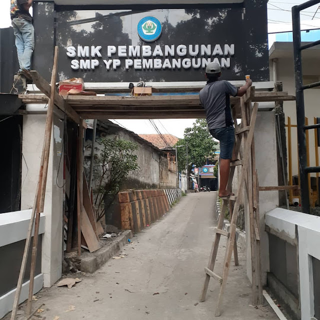 Harga Pembuatan Huruf Timbul di Bogor, Murah Bergaransi