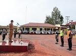 Apel Gelar Pasukan OPS Ketupat 2021 Sekda Dairi Bacakan Amanat Kapolri.