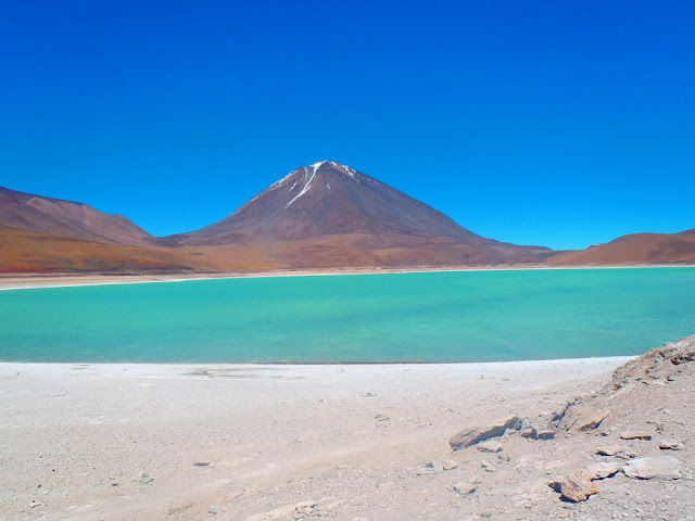 Laguna Verde Bolivia Most Beautiful Lakes in the World Adventure Travel