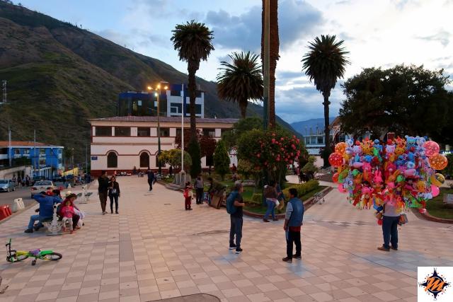 Abancay, Plaza de Armas