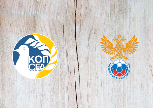 Cyprus vs Russia -Highlights 13 October 2019