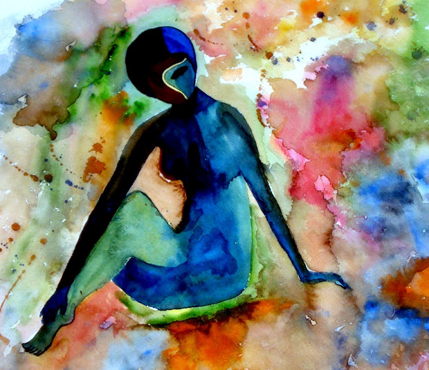 Abstract Art Paintings Woman