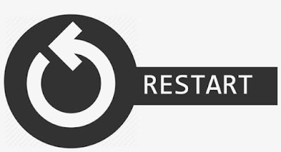 Mulai ulang (restart) browser web kamu