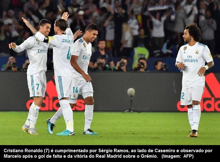 7591c19380 Blognetto  Real Madrid bate o Grêmio por 1 a 0 e fatura o Mundial de ...
