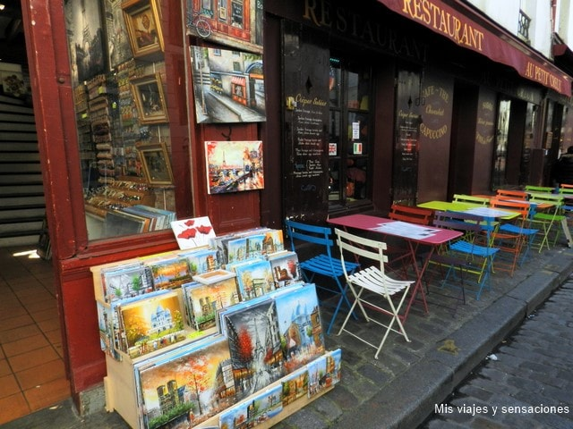 Montmartre, el barrio de los pintores, París