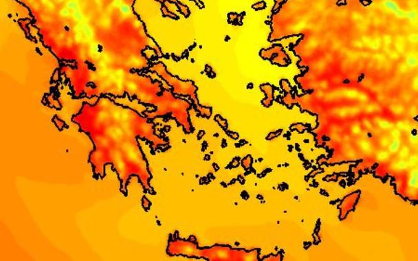 """""""Έβρασε"""" η Αργολίδα - Στους 40 βαθμούς Κελσίου έφτασε η θερμοκρασία"""