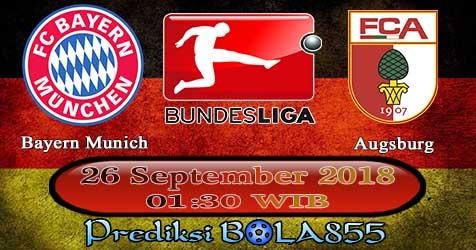 Prediksi Bola855 Bayern Munich vs Augsburg 26 September 2018