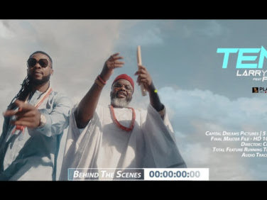 "Larry Gaaga & Flavour's ""Tene"" Bags Soundtrack Of The Year Award At 2020 AMVCA"