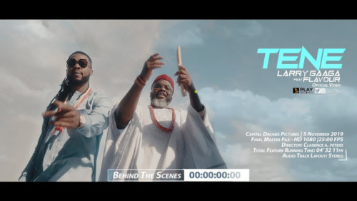 """Larry Gaaga & Flavour's """"Tene"""" Bags Soundtrack Of The Year Award At 2020 AMVCA"""