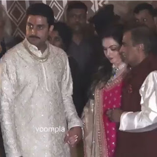 ENTERTAINMENT, Mukesh ambani, Nita ambani, abhishek bachchan, ambani and bachchan meet up