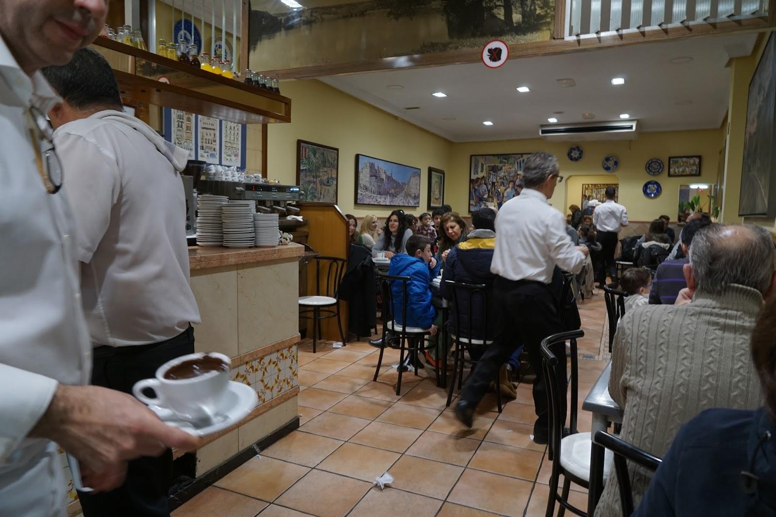 グランハ・ラ・パジャレサ(Granja La Pallaresa) 店内