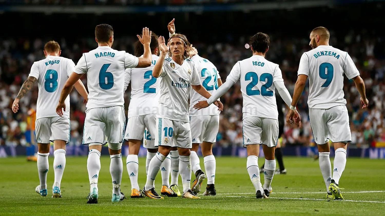 مباراة ريال مدريد وفالنسيا الدوري الاسباني
