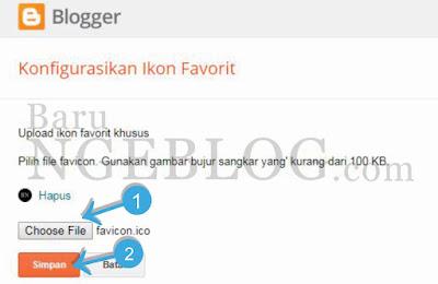 Cara Mudah dan Cepat Membuat serta Memasang Favicon Blog
