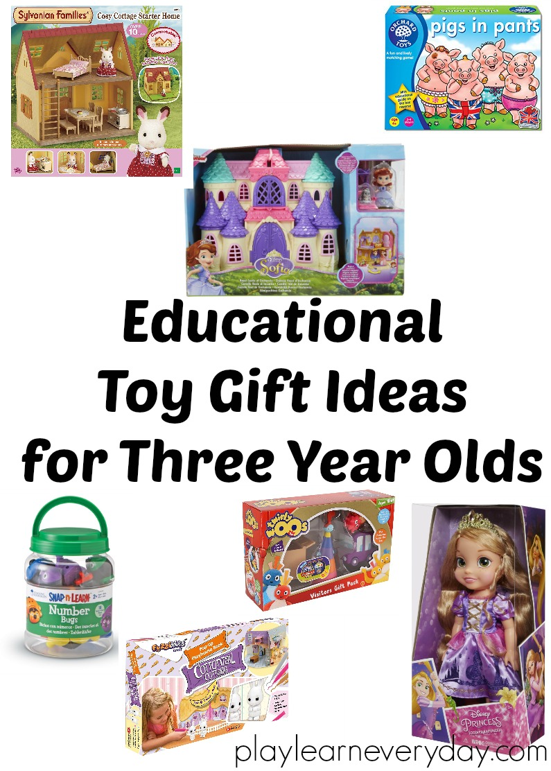 Toys For 3 Year Olds : Educational toy gift ideas for year olds play and