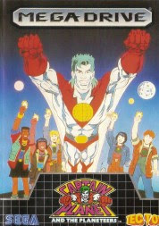 Rom de Captain Planet and the Planeteers - Mega Drive em PT-BR