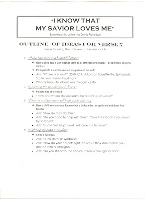 I know that my savior loves me book