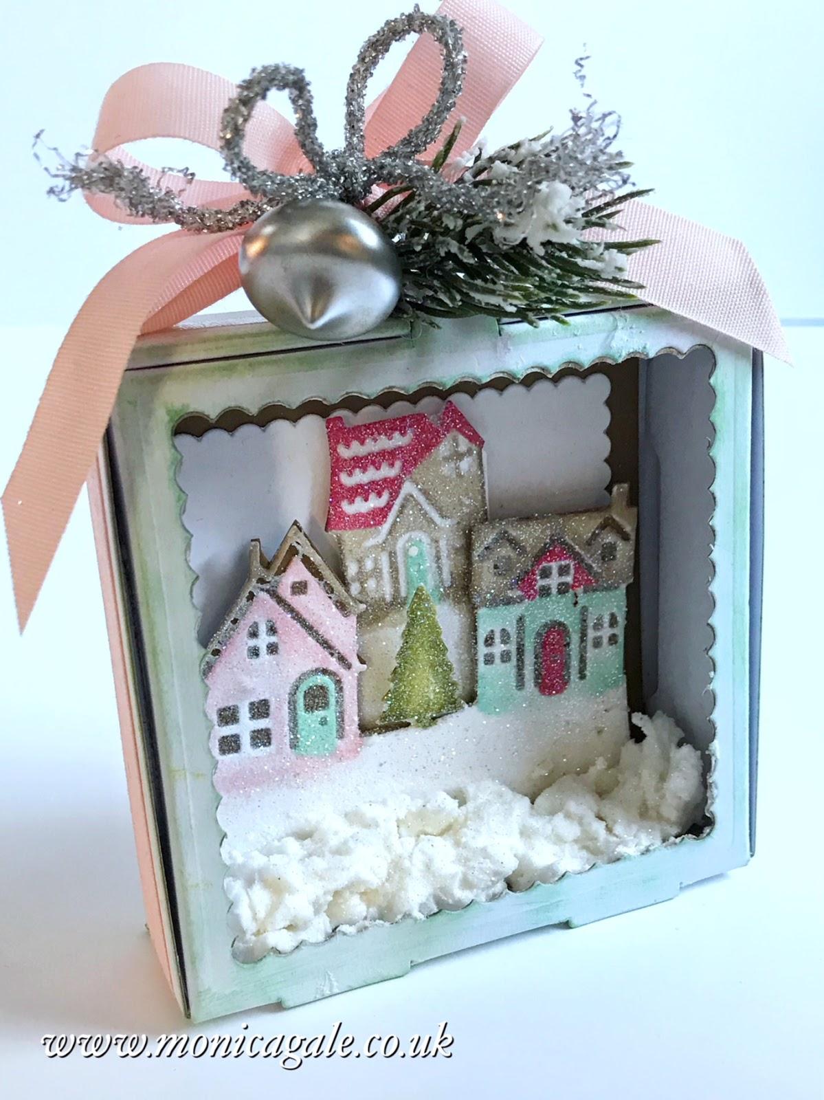 Новогодние открытки с домиками своими руками, сделать