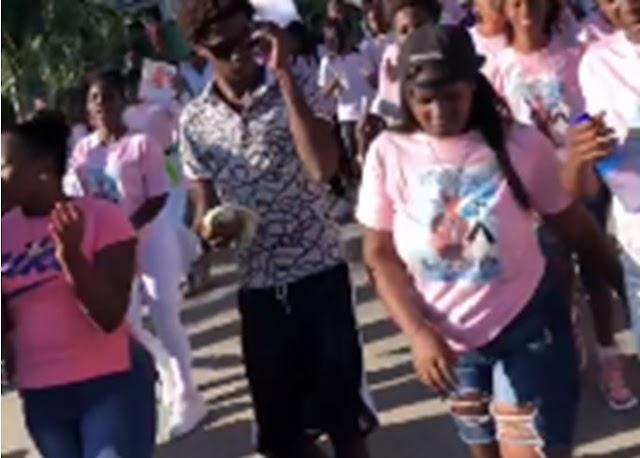 Banilejos protestan en reclamo de justicia por asesinato de joven-VIDEO