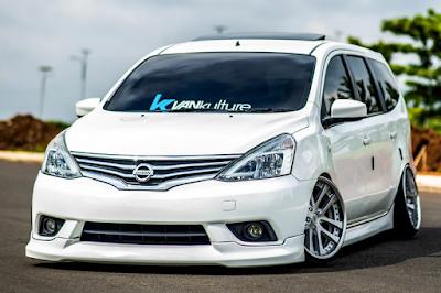 Nissan Grand Livina Modifikasi