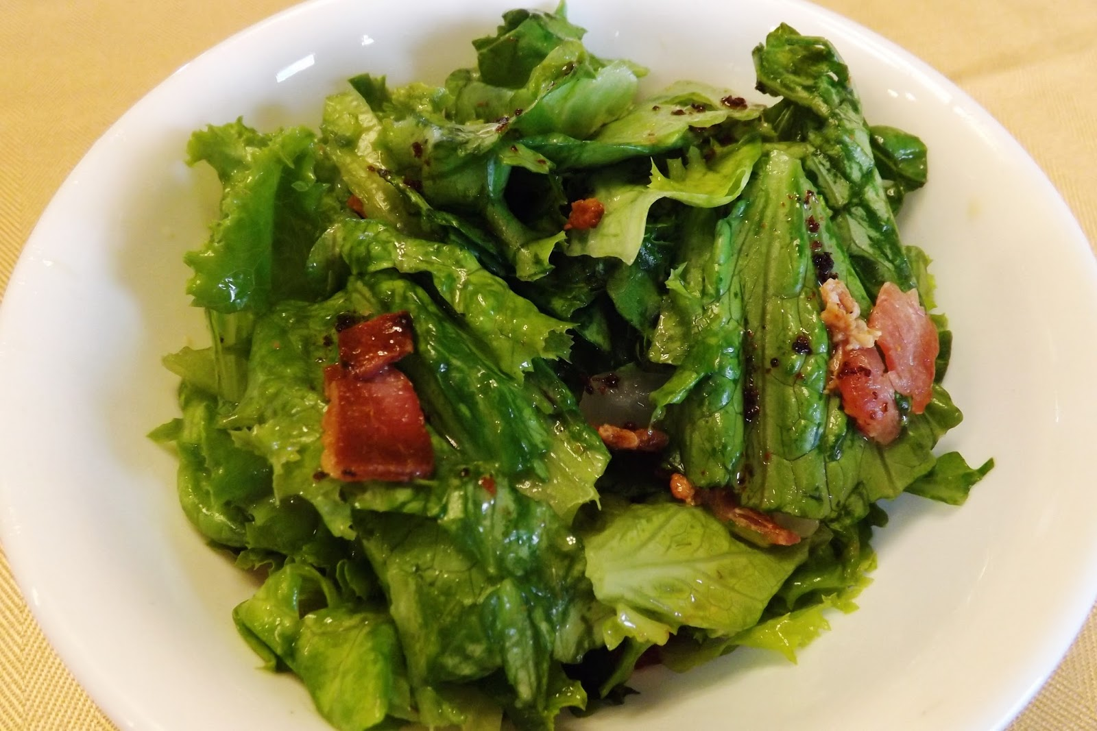 Make Your Someday Today!: Wilted Lettuce Salad with Warm ...
