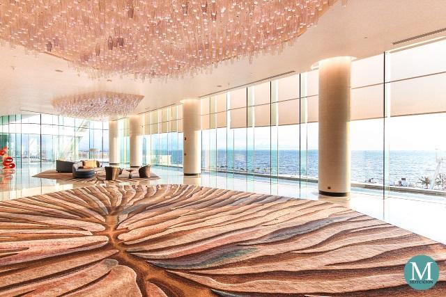 Lobby of Conrad Manila