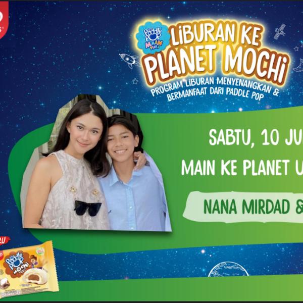 Liburan seru ke Planet Uranus bareng Nana Mirdad