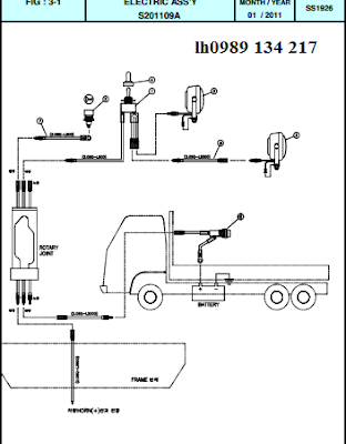 Hệ thống điện cẩu thủy lực Dong Yang SS1924-SS1926