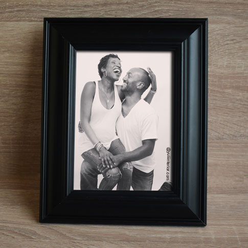 Black Picture Frames with Easel Back in Port Harcourt-Nigeria