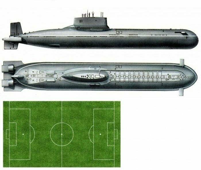 submarino 941 Shark