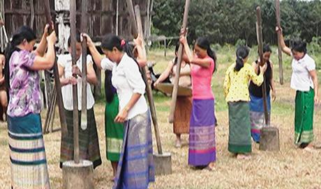 Tết mừng lúa mới của người Ka Dong